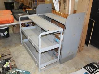(2) Metal Roll around Carts