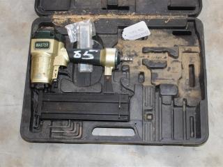 Master Air Powered Nail Gun W/ Box