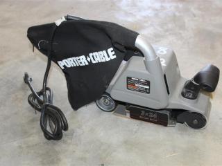 Porter Cable Model 360 Belt Sander w/ Dust Pick-up sn/ 179253A5011