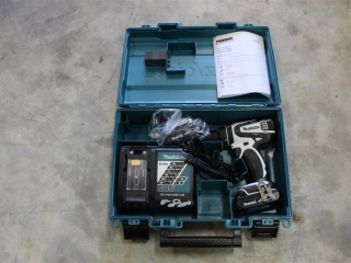 Makita 18V Battery Powered Drill w/ charger and extra battery Unused W/ Box