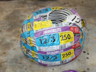 ArmorLite 12/3 Solid Metal Clad Cable Approx 250ft