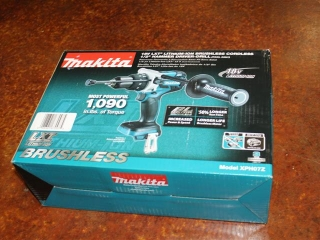 """(1) Makita 18V LXT Lithium-Ion Brushless Cordless 1/2"""" Hammer Driver-Drill Model XPH07Z (TOOL ONLY)"""