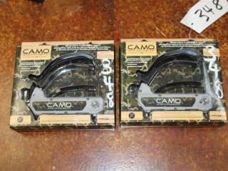 (2) CAMO Marksman Pro Staple Guns