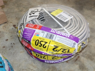 ArmorLite 12/2 Solid Metal Clad Cable Approx 250ft