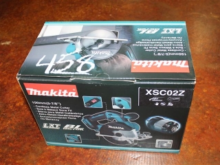 "(1) Makita 150mm(5-7/8"") Cordless Metal Cutter Model XSC02Z"