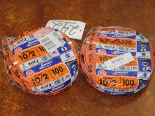 Lot of Type NM-B Romex 10/2 600V Copper wire W/ Ground 200ft