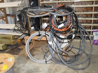 Misc Lot of Wire and Rack