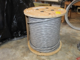 Lot of 2-3 Str 8000 SE Grey Aluminum Wire 600volt Approx500ft