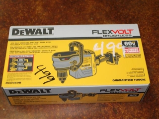 (1) DeWalt FlexVolt Brushless 60V Max VSR Stud & Joist Drill w/ E-Clutch System Model DCD460B (TOOL