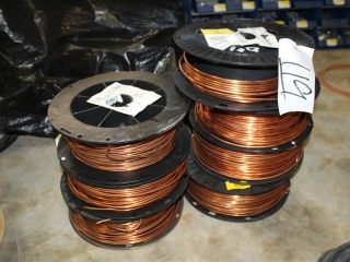 Misc Lot of Ground Wire (Various sizes) Approx 500ft