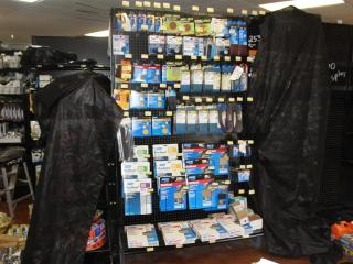 Lot of Misc Sand Paper, Belts, Sheets, & Discs 50-220 Grit (Contents of Shelf)