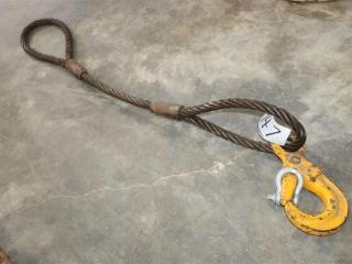 Wire Sling W/ Hook