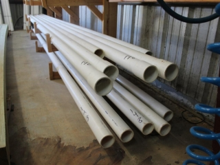 """Lot of Approx (10) 3""""x Approx 20ft PVC"""