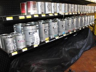 Lot of Valspar Anti Rust Armor interior/exterior Paint