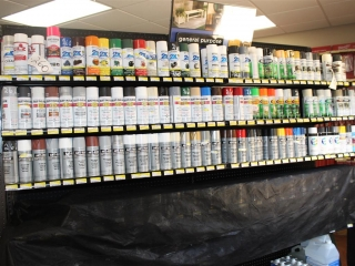 Lot of Rust-Oleum and Valspar Spray Paint and Enamels