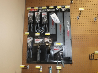 Lot of Wiss HVAC Tools