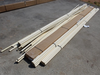 """Lot Of Approx (50) 3/4"""" x Approx 10ft CPVC Pipe"""