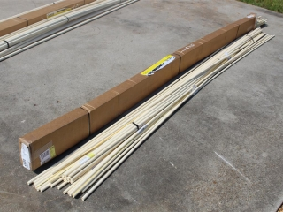 """Lot Of Approx (35) 1/2"""" x Approx 10ft CPVC Pipe"""