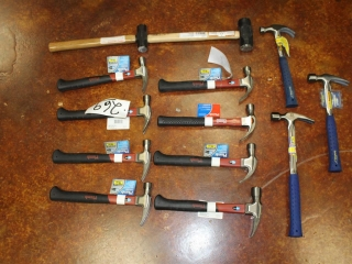 Lot os Assorted Hammers