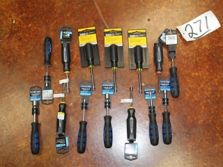 (14) Assorted Size Nut Drivers
