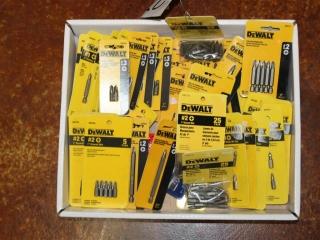 Box of Assorted Screw Driver Bits