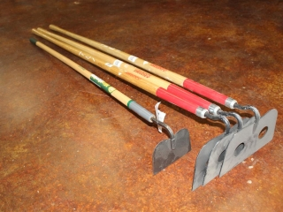 Lot of (4) Hand Tools (Hoes)
