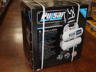 (1) Pulsar 5 Gallon Air Compressor Model PCE6050T