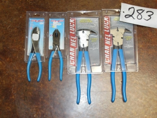 (2) Channel Lock Fence Tools, (2) Channel Lock Cutting Pliers