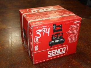 (1) Senco 18 Gauge Brad Nailer and Compressor Kit Model PC0947