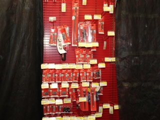 Lot of Milwaukee and Irwin Bits and Nut Drivers W/ Rack