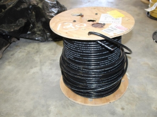 Lot of AWG 1 600volt Single Strand Copper Wire Approx 300ft