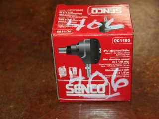 "(1) Senco 3 1/2"" Mini Hand Nailer Model PC1195"