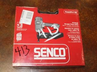 (1) Senco 16 Gauge Straight Finish Nailer Model FinishPro 32