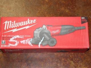 "(1) Milwaukee 4-1/2"" Small Angle Grinder Model 6130-33"