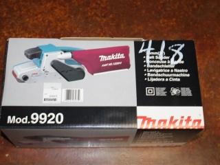"(1) Makita 76mm(3"") Belt Sander Model 9920"