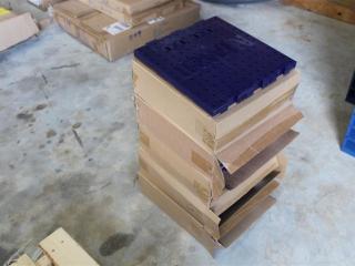 "(5) 12""X12"" Module Peg Board"