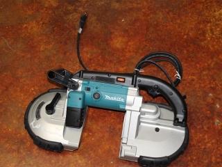 (1) Makita Portable Band Saw Model 2107FZ