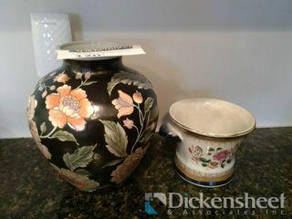 (2) Oriental themed decorative
