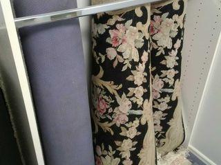 (2) Matching floral pattern