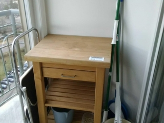 Two tier single drawer