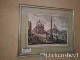 """""""Veduta Della Piazza Del Popola"""""""