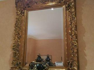 Approximately 5' gold tone decorative