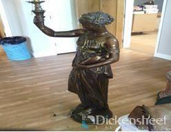 Mathurin Moreau A Magnificient Bronze Statue, Fren