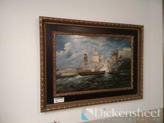 H Parker signed and framed oil on canvas,