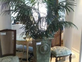 Large green tone vase