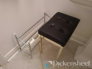 Adjustable shoe rack and bench