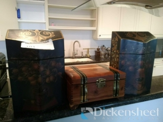 (2) Matching boxes with