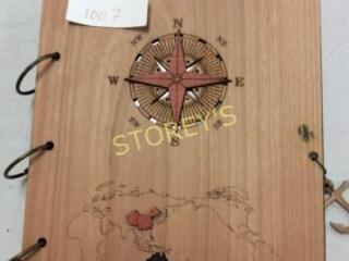 Wooden Navigation Design Photo Album