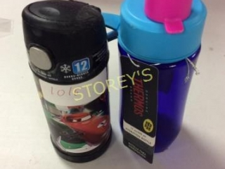 2 pc - Thermos & Hydration Bottle