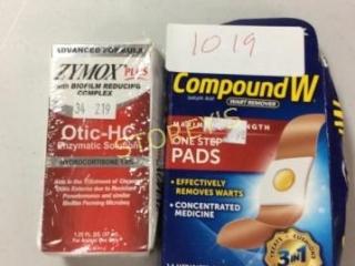 2 pc - Zymox Plus & Compound W
